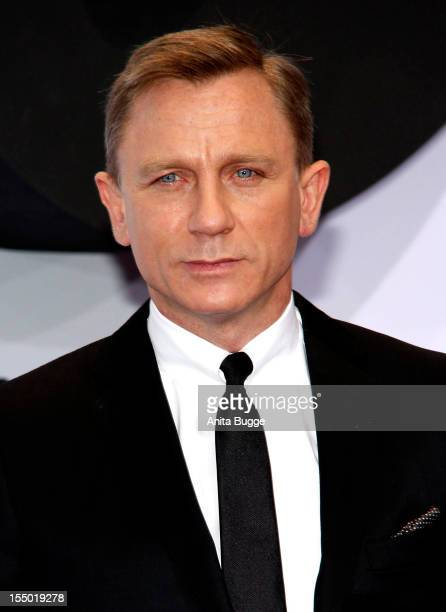 Actor Daniel Craig attends the 'Skyfall' Germany premiere at Theater am Potsdamer Platz on October 30 2012 in Berlin Germany