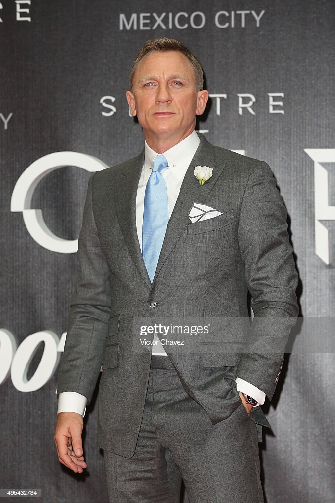 """Spectre"" Mexico City Premiere Red Carpet - Arrivals : News Photo"