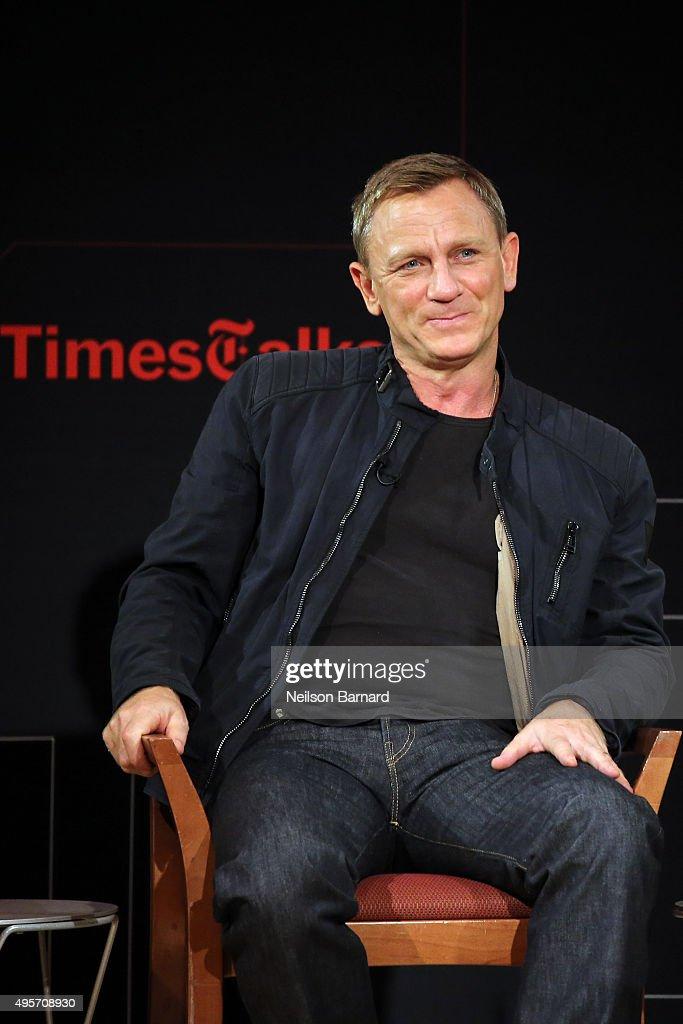 "Times Talks Presents: ""Spectre"", An Evening With Daniel Craig And Sam Mendes : Nachrichtenfoto"