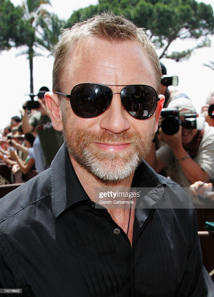 Actor Daniel Craig departs the Martinez Hotel during the 60th International Cannes Film Festival on May 22, 2007 in Cannes, France.
