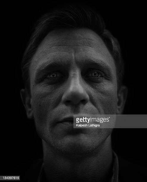 Actor Daniel Craig is photographed for the Independent on October 8 2003 in London England