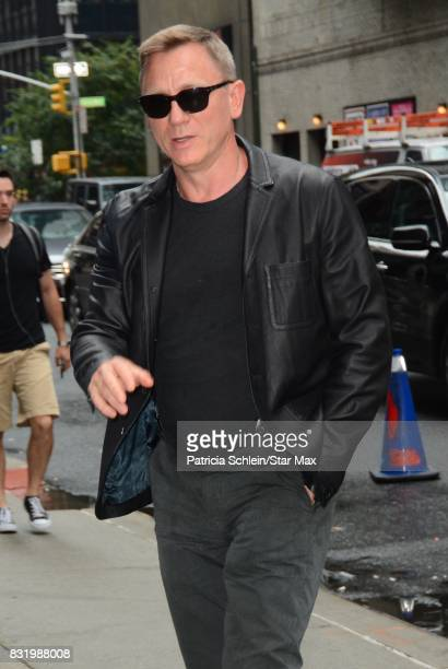 Actor Daniel Craig is seen on August 15 2017 in New York City