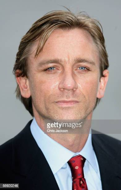 Actor Daniel Craig is unveiled as the new actor to play the legendary British secret agent James Bond 007 in the 221st Bond film 'Casino Royale' at...