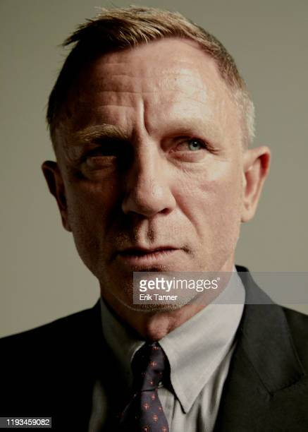 Actor Daniel Craig poses for a portrait at the The National Board Of Review Annual Awards Gala at Cipriani 42nd Street on January 8 2020 in New York...