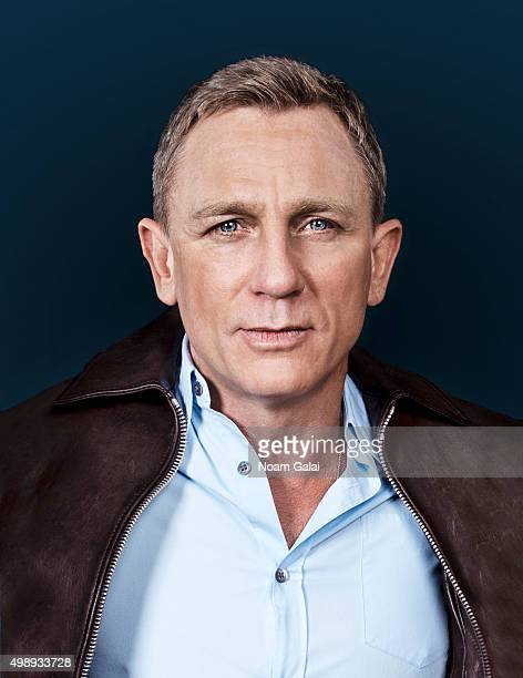 Actor Daniel Craig poses for a portrait on November 05 2015 in New York City
