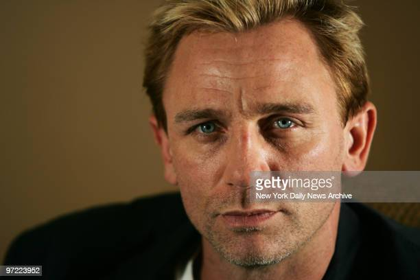 Actor Daniel Craig who stars in the new film Layer Cake at the Regency Hotel in Manhattan