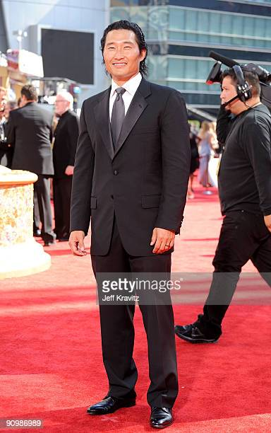 Actor Daniel Dae Kim arrives at the 61st Primetime Emmy Awards held at the Nokia Theatre on September 20 2009 in Los Angeles California