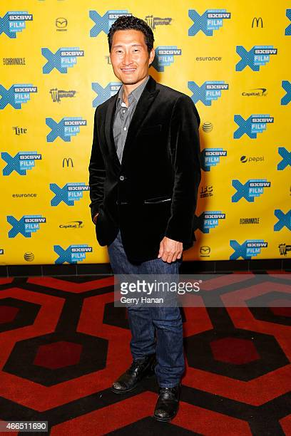 Actor Daniel Dae Kim attends the premiere of Ktown Cowboys during the 2015 SXSW Music Film Interactive Festival at Alamo Lamar B on March 15 2015 in...