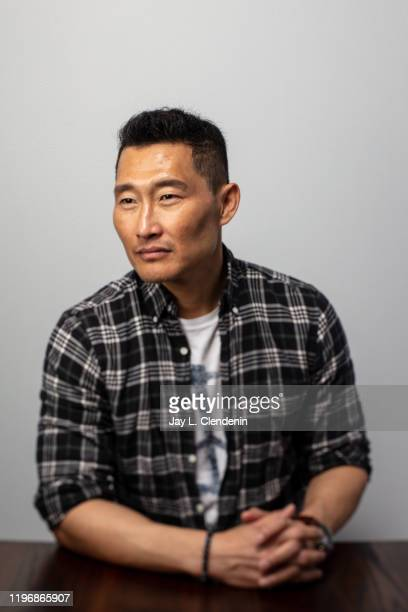Actor Daniel Dae Kim from 'Blast Beat' is photographed in the LA Times Studio at the Sundance Film Festival on January 26 2020 in Park City Utah...