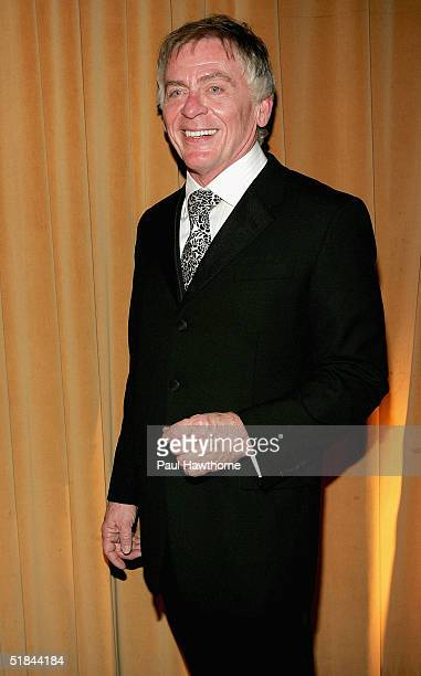 """Actor Daniel Davis attends the opening night of """"La Cage Aux Folles"""" after party at the Marriot Marque December 9, 2004 in New York City."""