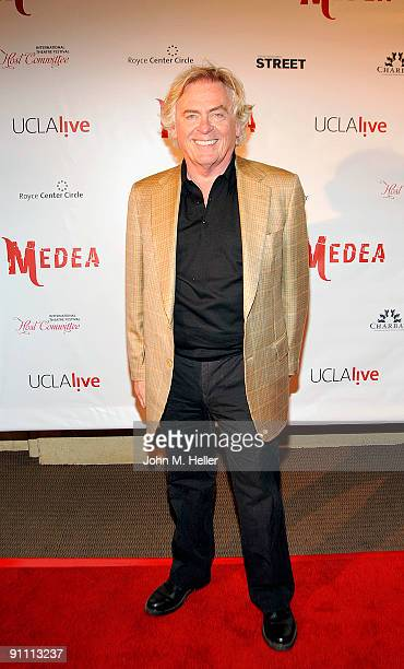 """Actor Daniel Davis attends the Opening Night of """"Medea"""" at the Freud Playhouse on the campus of the the University of California Los Angeles on..."""