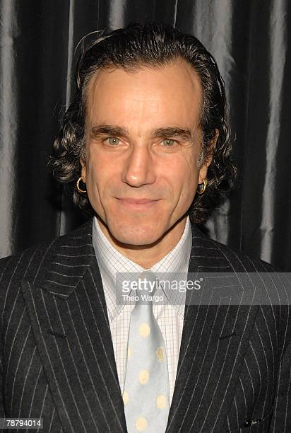 Actor Daniel Day Lewis attends the 2007 New York Film Critic's Circle Awards at Spotlight on January 6, 2008 in New York City.