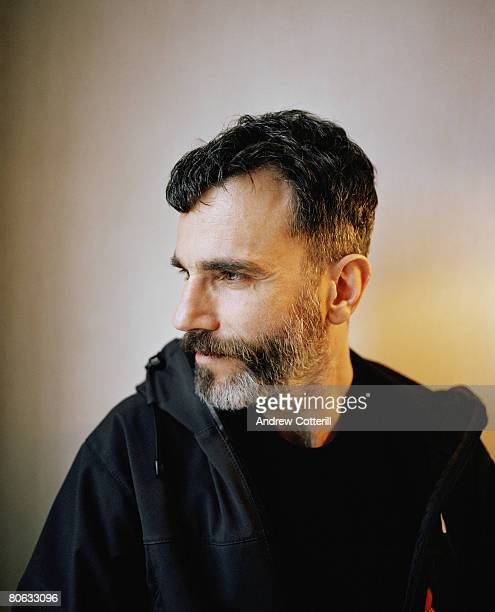 Actor Daniel Day Lewis poses for a portrait shoot for the Big Issue magazine in London on November 16 2007