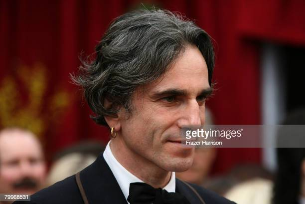 Actor Daniel DayLewis arrives at the 80th Annual Academy Awards held at the Kodak Theatre on February 24 2008 in Hollywood California