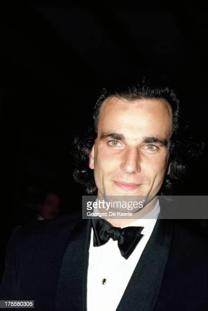 Actor Daniel DayLewis attends a premiere in 1989 ca in London England