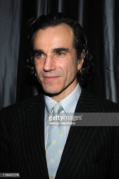 Actor Daniel DayLewis attends the 2007 New York Film Critics Circle Awards at Spotlight on January 6 2008 in New York City
