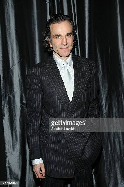 Actor Daniel Day-Lewis attends the 2007 New York Film Critic's Circle Awards at Spotlight on January 6, 2008 in New York City.