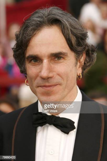 Actor Daniel DayLewis attends the 80th Annual Academy Awards at the Kodak Theatre on February 24 2008 in Los Angeles California