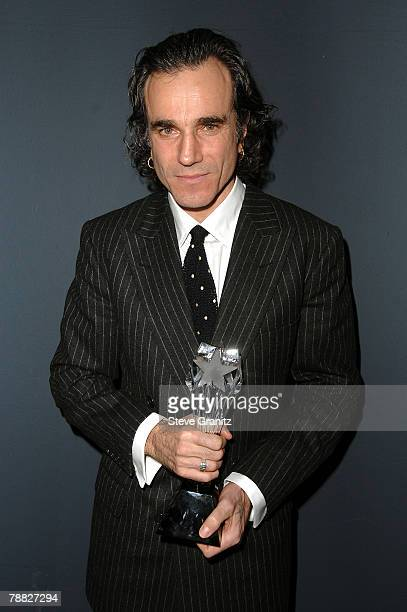 Actor Daniel Day-Lewis inside at the 13th ANNUAL CRITICS' CHOICE AWARDS at the Santa Monica Civic Auditorium on January 7, 2008 in Santa Monica,...