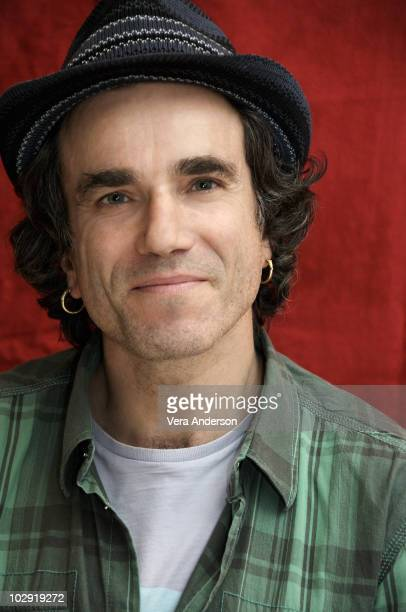 Actor Daniel DayLewis poses at a portrait session in Los Angeles