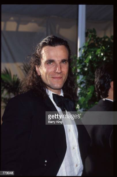 Actor Daniel DayLewis poses March 25 1991 in Los Angeles CA The Academy Awards are the foremost national film awards in the US and are given annually...