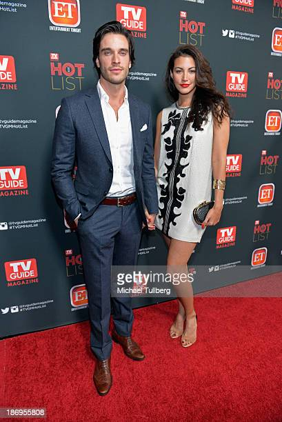 Actor Daniel Ditomasso and wife Katie attend TV Guide Magazine's Annual Hot List Party at The Emerson Theatre on November 4 2013 in Hollywood...