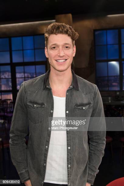 Actor Daniel Donskoy attends the Koelner Treff TV Show at the WDR Studio on March 2 2018 in Cologne Germany