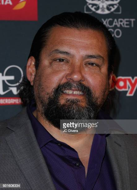 Actor Daniel E Mora attends the 5th Annual Premios PLATINO Of Iberoamerican Cinema Nominations Announcement at Hollywood Roosevelt Hotel on March 13...