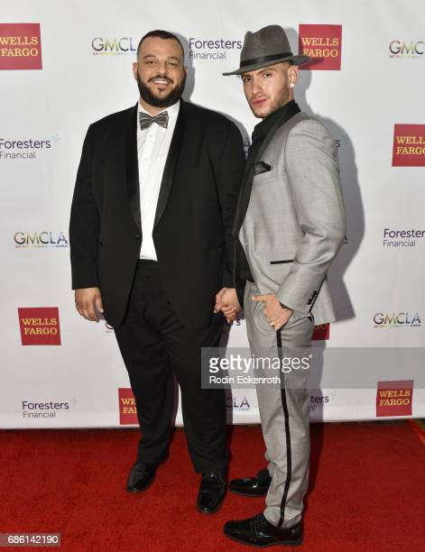Actor Daniel Franzese and fiance attend the Gay Men's Chorus of Los Angeles 6th Annual Voice Awards at JW Marriott Los Angeles at LA LIVE on May 20...