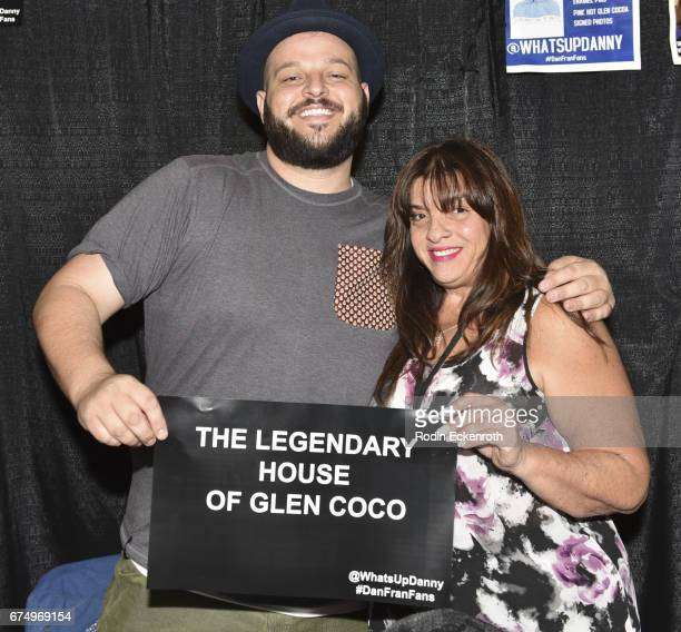 Actor Daniel Franzese and Real Italian Mom pose for portrait at 3rd annual RuPaul's DragCon at Los Angeles Convention Center on April 29 2017 in Los...