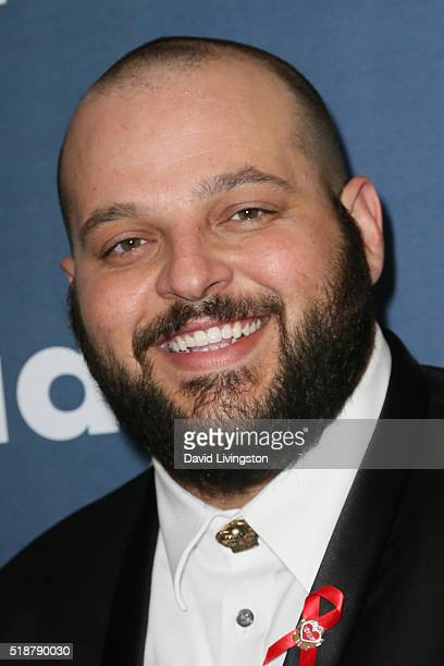 Actor Daniel Franzese arrives at the 27th Annual GLAAD Media Awards at The Beverly Hilton Hotel on April 2 2016 in Beverly Hills California