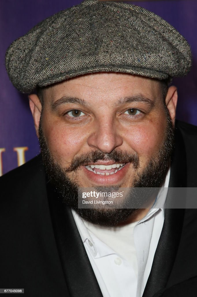 Actor Daniel Franzese arrives at the premiere of 'The Bodyguard' at the Pantages Theatre on May 2, 2017 in Hollywood, California.