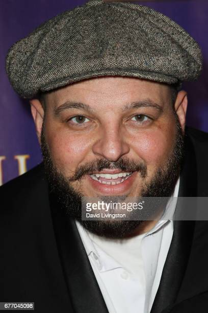 Actor Daniel Franzese arrives at the premiere of 'The Bodyguard' at the Pantages Theatre on May 2 2017 in Hollywood California