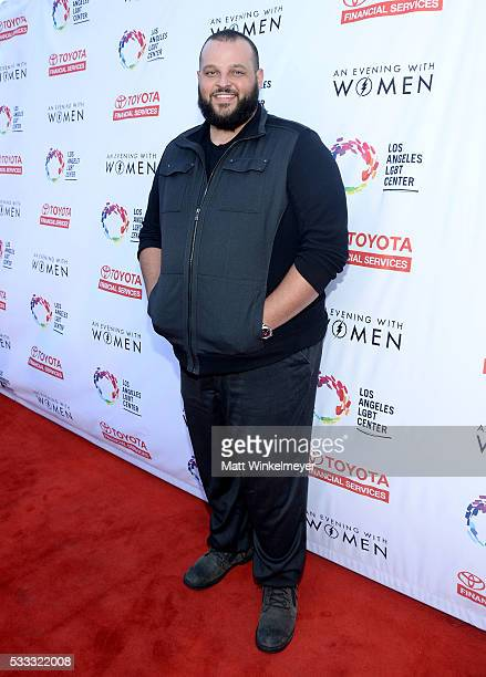 Actor Daniel Franzese attends An Evening with Women benefiting the Los Angeles LGBT Center at the Hollywood Palladium on May 21 2016 in Los Angeles...