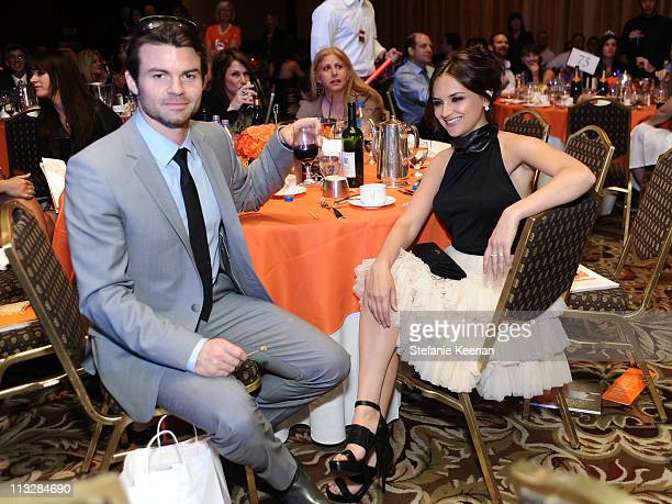 Actor Daniel Gillies and actress Rachael Leigh Cook attend the 18th Annual Race to Erase MS event co-chaired by Nancy Davis and Tommy Hilfiger at the...