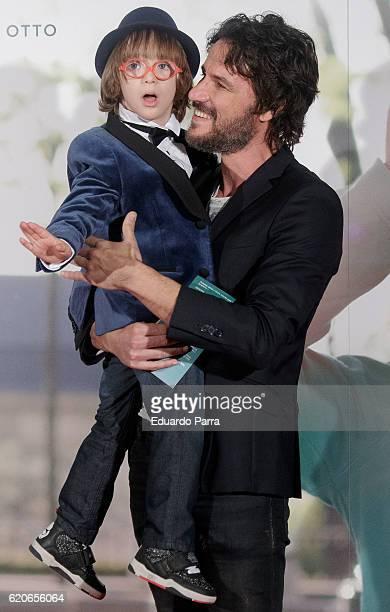 Actor Daniel Grao and actor Jan Moll attend the 'La historia de Jan' photocall at Verdi cinema on November 2 2016 in Madrid Spain