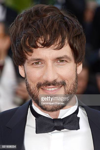 Actor Daniel Grao attends the 'Julieta' premiere during the 69th annual Cannes Film Festival at the Palais des Festivals on May 17 2016 in Cannes...