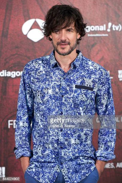Actor Daniel Grao attends the 'La Catedral del Mar' photocall at the Palacio de Congresos during the FesTVal 2017 on September 8 2017 in...