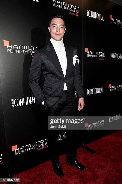 Actor Daniel Henney attends the Hamilton Behind The Camera Awards presented by Los Angeles Confidential Magazine at Exchange LA on November 6 2016 in...