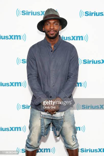 Actor Daniel J. Watts visits the SiriusXM Studios on July 18, 2019 in New York City.