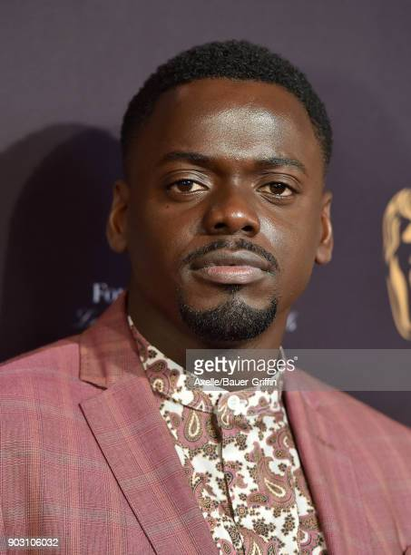Actor Daniel Kaluuya arrives at The BAFTA Los Angeles Tea Party at Four Seasons Hotel Los Angeles at Beverly Hills on January 6 2018 in Los Angeles...