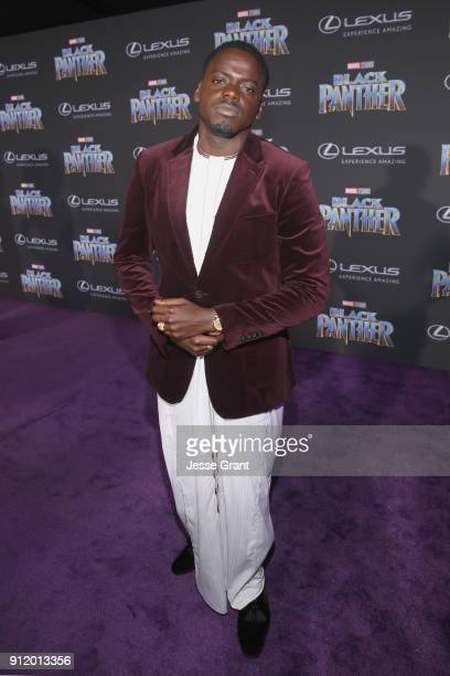 Actor Daniel Kaluuya at the Los Angeles World Premiere of Marvel Studios' BLACK PANTHER at Dolby Theatre on January 29 2018 in Hollywood California