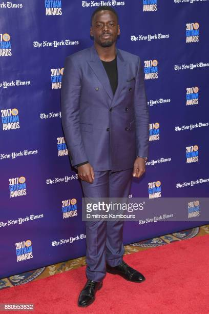 Actor Daniel Kaluuya attends IFP's 27th Annual Gotham Independent Film Awards on November 27 2017 in New York City