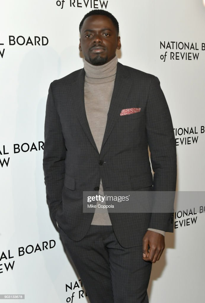 Actor Daniel Kaluuya attends the 2018 The National Board Of Review Annual Awards Gala at Cipriani 42nd Street on January 9, 2018 in New York City.