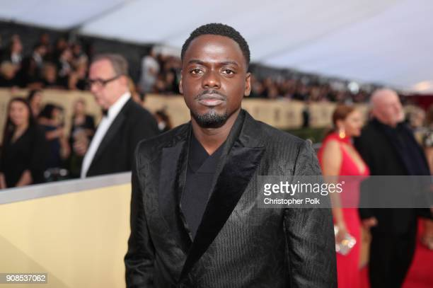 Actor Daniel Kaluuya attends the 24th Annual Screen Actors Guild Awards at The Shrine Auditorium on January 21 2018 in Los Angeles California...