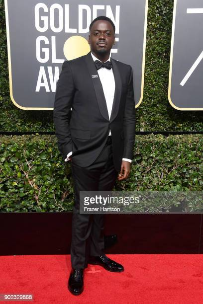 Actor Daniel Kaluuya attends The 75th Annual Golden Globe Awards at The Beverly Hilton Hotel on January 7 2018 in Beverly Hills California