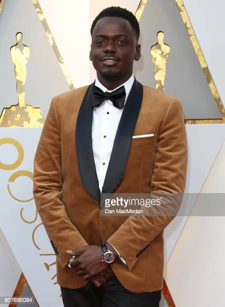 Actor Daniel Kaluuya attends the 90th Annual Academy Awards at Hollywood Highland Center on March 4 2018 in Hollywood California