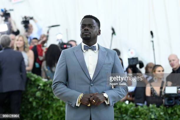 Actor Daniel Kaluuya attends the Heavenly Bodies Fashion The Catholic Imagination Costume Institute Gala at The Metropolitan Museum of Art on May 7...