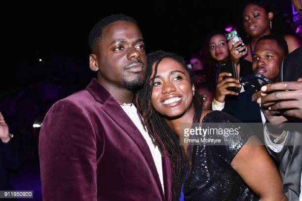 Actor Daniel Kaluuya attends the premiere of Disney and Marvel's 'Black Panther' at Dolby Theatre on January 29 2018 in Hollywood California