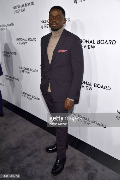 Actor Daniel Kaluuya attends the The National Board Of Review Annual Awards Gala at Cipriani 42nd Street on January 9 2018 in New York City